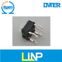 tact switch with led